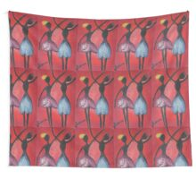 Tulip dancers Wall Tapestry