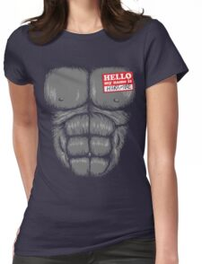 Harambe Halloween Womens Fitted T-Shirt