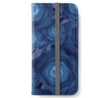 Seamless textile design Roses.  iPhone Wallet/Case/Skin