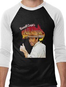 rusell Men's Baseball ¾ T-Shirt