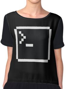 Linux command prompt Chiffon Top