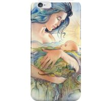 GAIA - Mather and Child iPhone Case/Skin