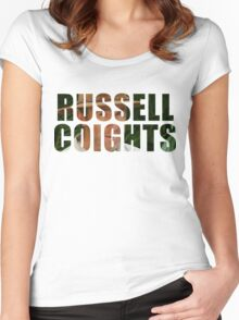 rusell Women's Fitted Scoop T-Shirt