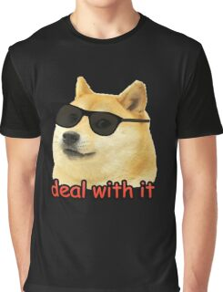 Doge - Deal with it. Graphic T-Shirt