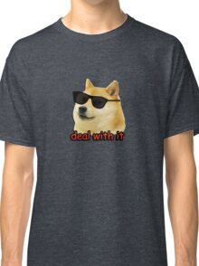 Doge - Deal with it. Classic T-Shirt