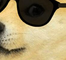 Doge - Deal with it. Sticker
