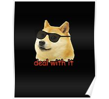 Doge - Deal with it. Poster