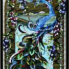 Stained Glass in a Window by AnnDixon