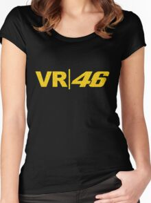VR 46 Women's Fitted Scoop T-Shirt