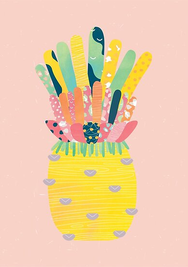 Pineapple Party by brigittehuynh
