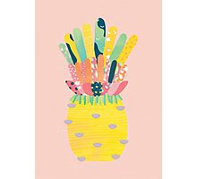 Pineapple Party Photographic Print