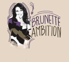 Lea Michele Brunette Ambition by aloysiusefraim