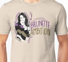 Lea Michele Brunette Ambition Unisex T-Shirt