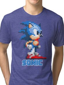 Sonic the Hedgehog 16 bit Tri-blend T-Shirt