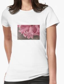 Flower Babies Womens Fitted T-Shirt