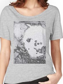 Radiohead - A Moon Shaped Pool Album Lyrics T-Shirt #2 Women's Relaxed Fit T-Shirt