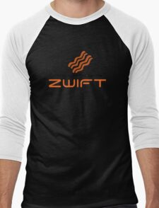 STAY WITH THE BACON - ZWIFT Men's Baseball ¾ T-Shirt