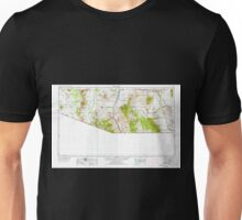 USGS TOPO Map Arizona AZ Nogales 315562 1956 250000 Unisex T-Shirt