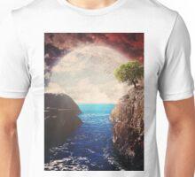 Where the moon meets the sea Unisex T-Shirt