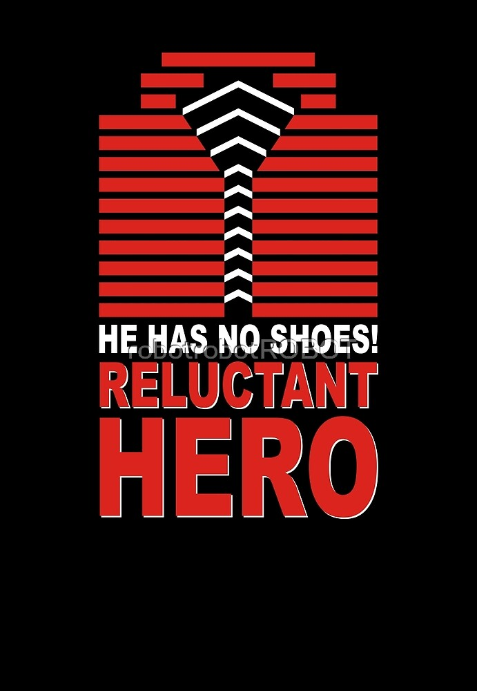 Reluctant Hero by robotrobotROBOT