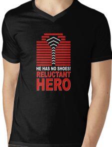 Reluctant Hero Mens V-Neck T-Shirt