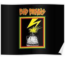 b brains logo Poster