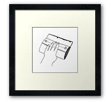 Squeegee Framed Print
