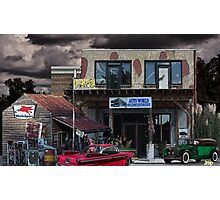 Auto World Photographic Print