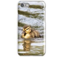 Duckling Paddling in the Sunshine iPhone Case/Skin