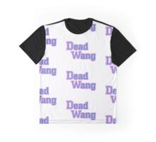 DEADWANG Letterman Style logo Graphic T-Shirt