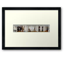 360 view of the front hall Framed Print