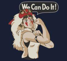 Mononoke Can Do It Kids Tee