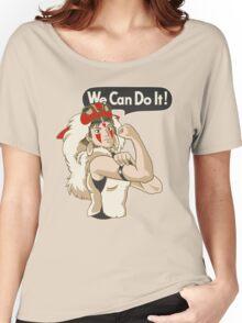 Mononoke Can Do It Women's Relaxed Fit T-Shirt