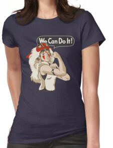Mononoke Can Do It Womens Fitted T-Shirt