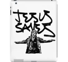 Jesus Saves iPad Case/Skin