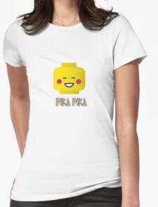 PIKA PIKACHU Womens Fitted T-Shirt