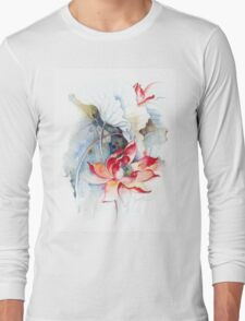 """Guarding the Secret Passage"" from the series ""In the Lotus Land"" Long Sleeve T-Shirt"