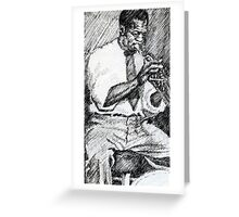 Louis Armstrong  Greeting Card