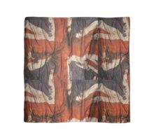 British Grunge creased flag style / inspired by Liam Gallagher/ Oasis /Britpop / 90's Britian Scarf