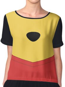 Rumbly in my Tummy Chiffon Top