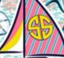 SS Sail Boat Sticker