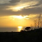 Sunset over Trenadog Bay, Wales by Kay Cunningham