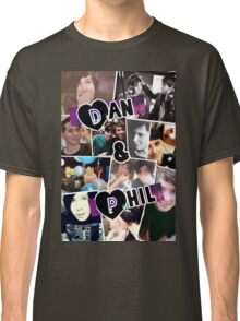 Dan and Phil Collage Classic T-Shirt