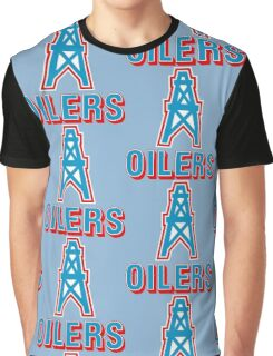 HOUSTON OILERS FOOTBALL RETRO (1) Graphic T-Shirt