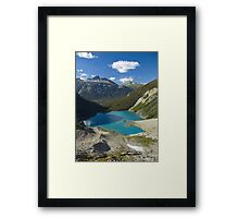 Autumn - Upper Joffre Lake, Joffre Lake Provincial Park, British Columbia, Canada Framed Print