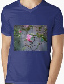 The First Sign of Spring Mens V-Neck T-Shirt