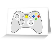 XBox - light controller Greeting Card