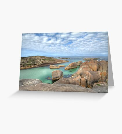 Elephant Rocks, Denmark, Western Australia #3 Greeting Card