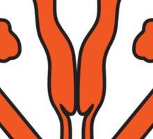 Uterus Hero Orange Sticker