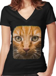 GTA 5 - cat shirt (I'm Not a Hipster) Women's Fitted V-Neck T-Shirt